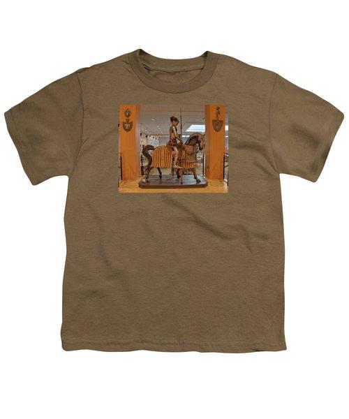The Knight On Horseback Youth T-Shirt