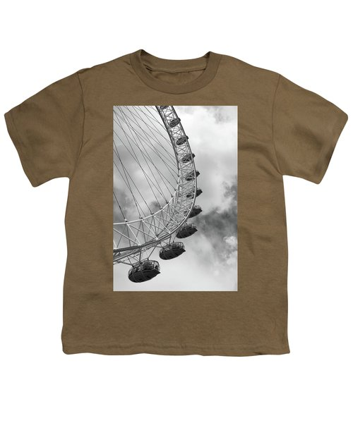 Youth T-Shirt featuring the photograph The London Eye, London, England by Richard Goodrich