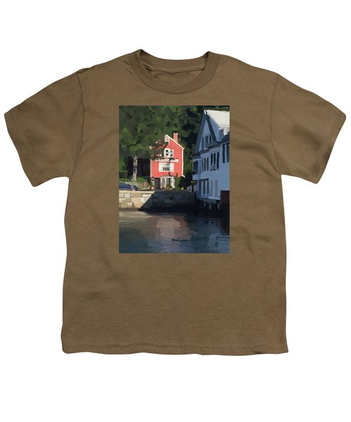 The Sacred Cod And Beacon Marine Youth T-Shirt