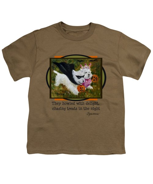 They Howled With Delight Youth T-Shirt