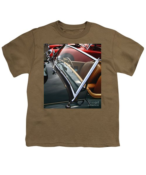 Youth T-Shirt featuring the photograph Through The Looking Glass by Stephen Mitchell