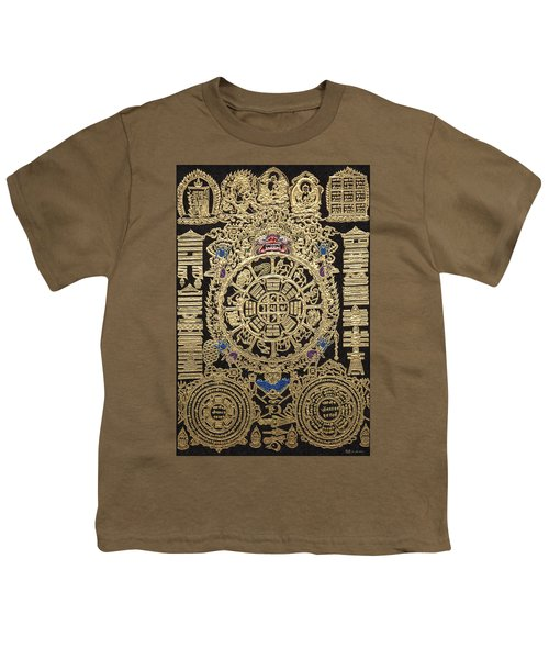 Tibetan Astrological Diagram Youth T-Shirt