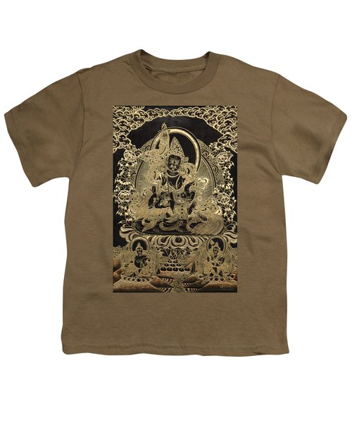 Tibetan Thangka - Vaishravana Youth T-Shirt