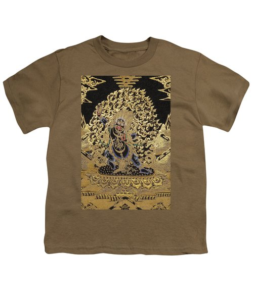 Tibetan Thangka - Vajrapani  Youth T-Shirt