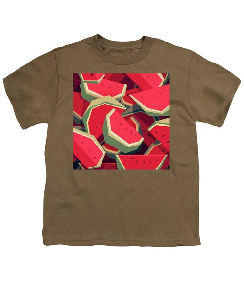 Too Many Watermelons Youth T-Shirt