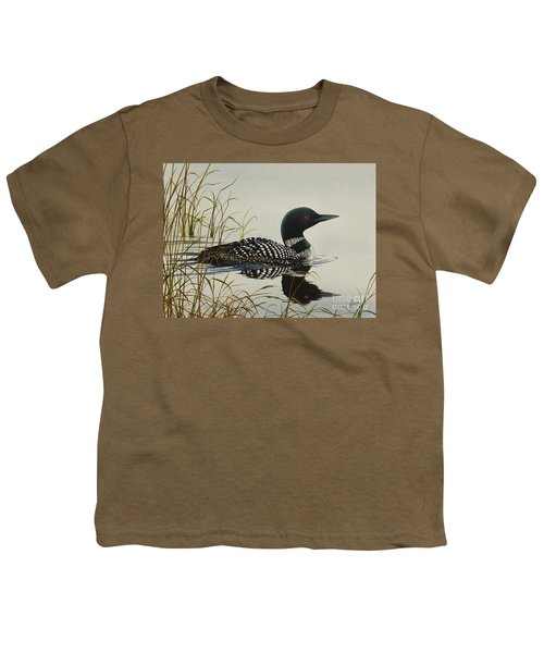 Tranquil Stillness Of Nature Youth T-Shirt
