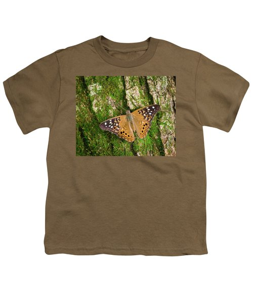 Youth T-Shirt featuring the photograph Tree Hugger by Bill Pevlor