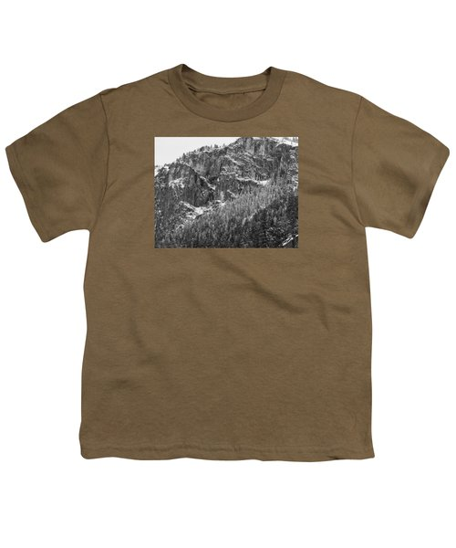Youth T-Shirt featuring the photograph Treefall by Lora Lee Chapman