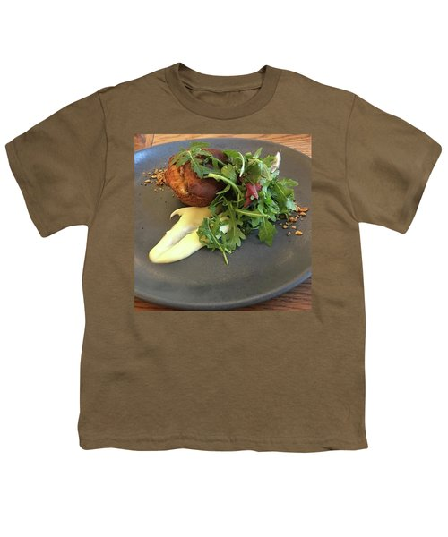 Twice Baked Binham Blue Cheese & Walnut Youth T-Shirt by John Edwards