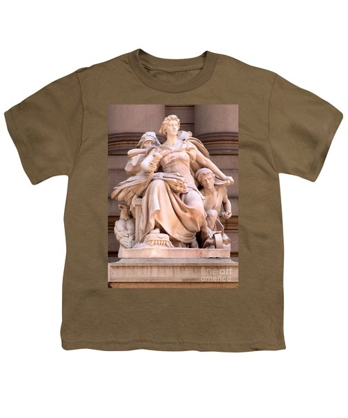 U S Custom House 4 Youth T-Shirt