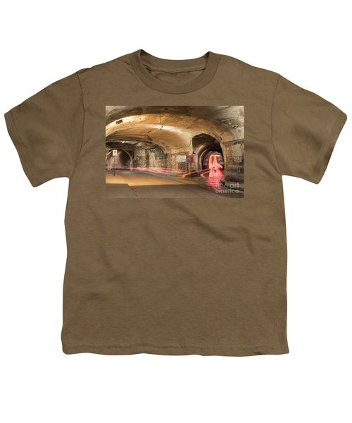 Underground Tunnels In Guanajuato, Mexico Youth T-Shirt