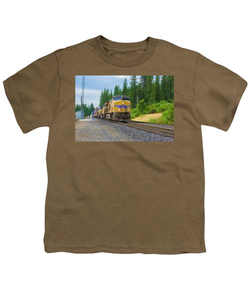 Youth T-Shirt featuring the photograph Up5698 by Jim Thompson