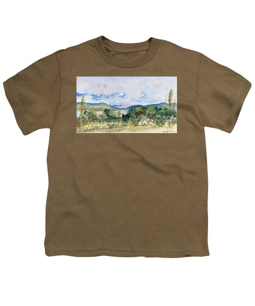 View Of D'entrecasteaux Channel From Birchs Bay, Tasmania Youth T-Shirt