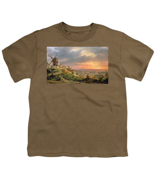 View Of The Butte Montmartre Youth T-Shirt