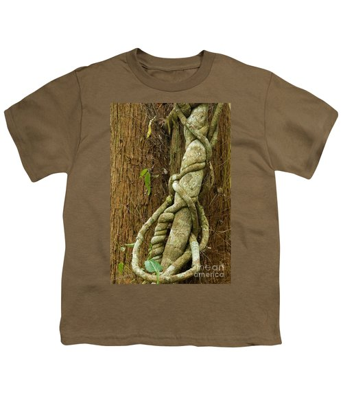 Youth T-Shirt featuring the photograph Vine by Werner Padarin