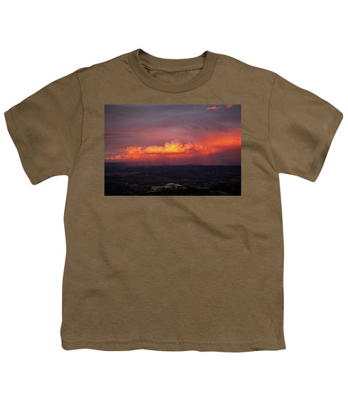 Vivid Verde Valley Sunset Youth T-Shirt