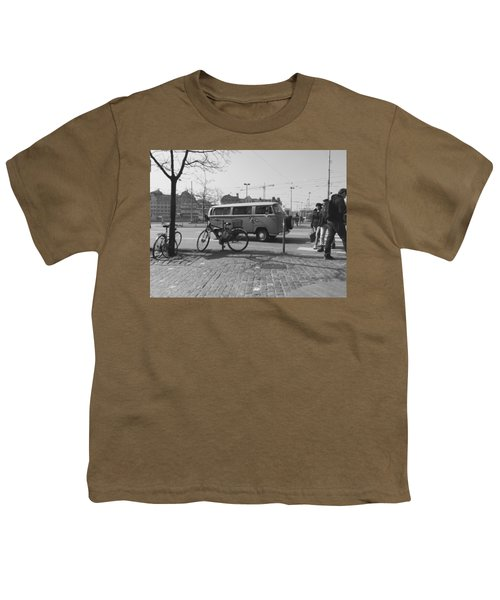 Vw Oldie Youth T-Shirt by Andy Langemann