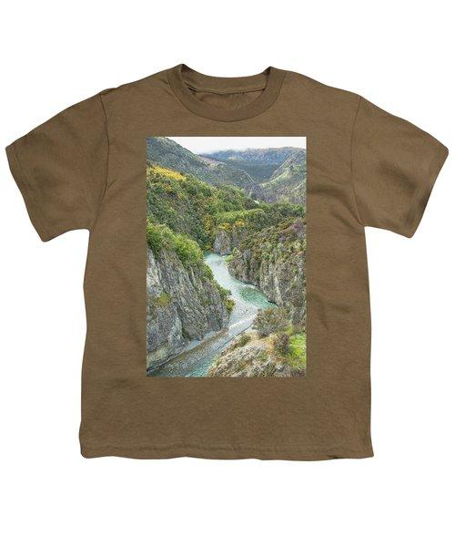 Waimakariri Gorge Youth T-Shirt