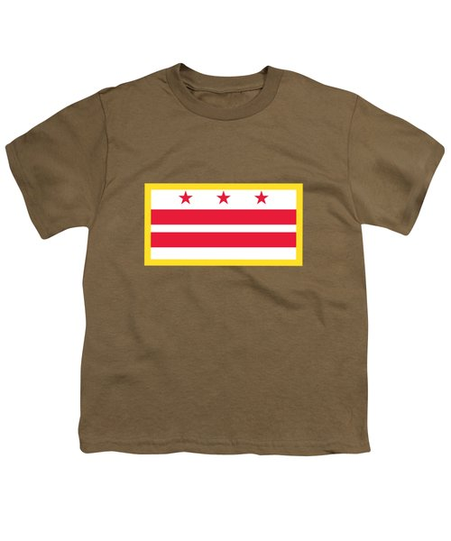 Washington, D.c. Flag Youth T-Shirt