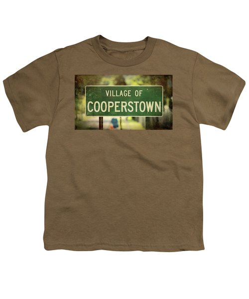 Welcome To Cooperstown Youth T-Shirt