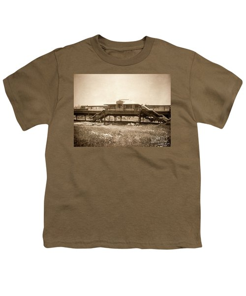 West 207th Street, 1906 Youth T-Shirt by Cole Thompson