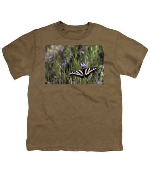 Western Tiger Swallowtail Youth T-Shirt