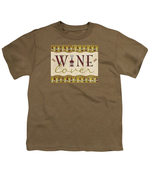 Wine Lover Youth T-Shirt