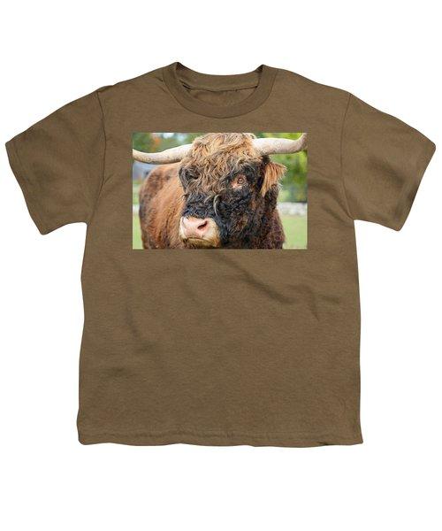 Yakity Yak Youth T-Shirt by Karol Livote