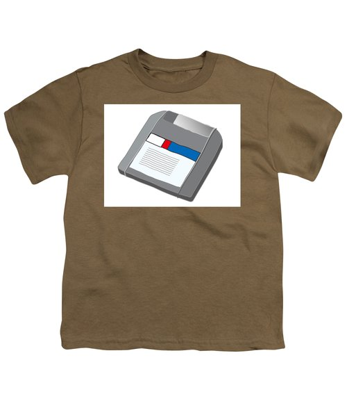 Zip Disk Youth T-Shirt
