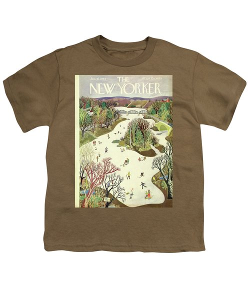 New Yorker January 16th 1943 Youth T-Shirt