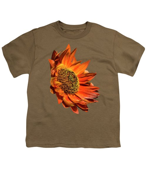 Selective Color Sunflower Youth T-Shirt