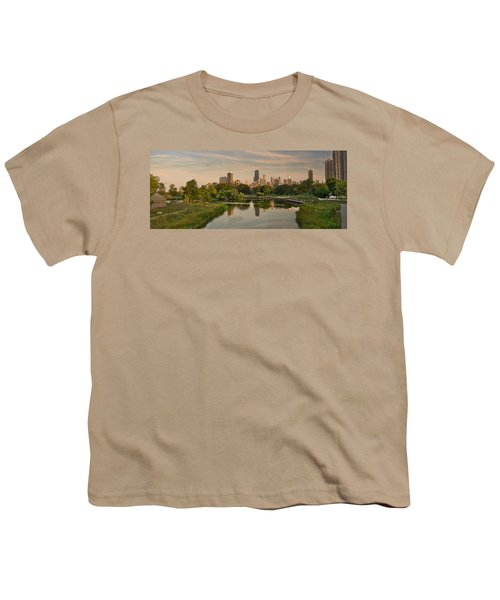 Lincoln Park Lagoon Chicago Youth T-Shirt