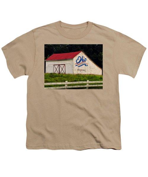 Ohio Bicentennial Barn Youth T-Shirt