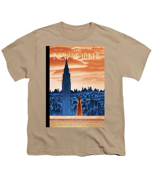 New Yorker January 12th, 2009 Youth T-Shirt
