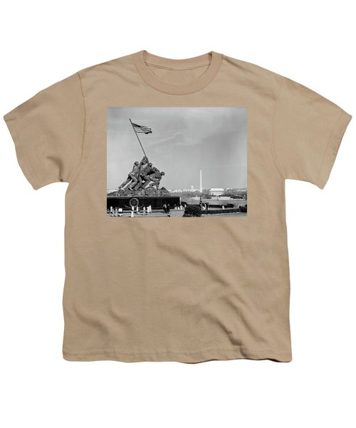 1960s Marine Corps Monument Youth T-Shirt