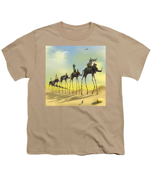 On The Move Youth T-Shirt by Mike McGlothlen