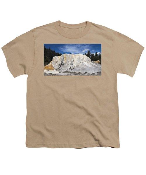 Orange Spring Mound Mammoth Hot Springs Yellowstone National Park Youth T-Shirt