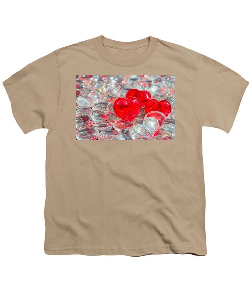 Crystal Heart Youth T-Shirt