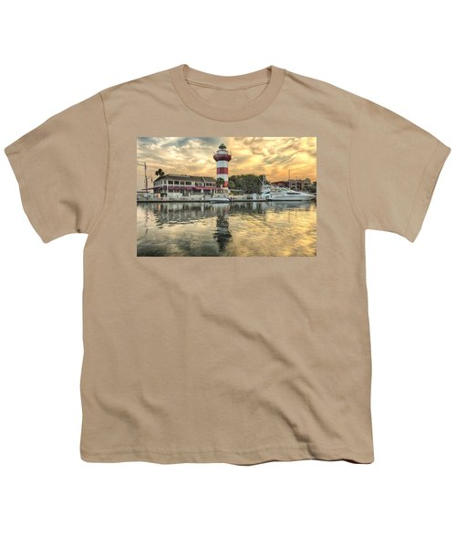 Lighthouse On Hilton Head Island Youth T-Shirt