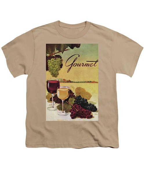 A Gourmet Cover Of Wine Youth T-Shirt