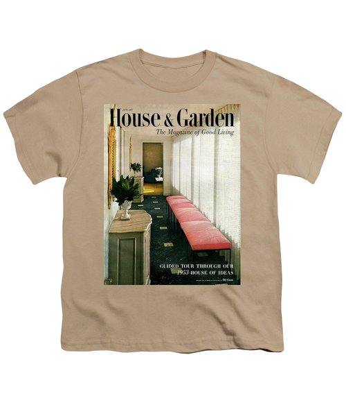 A House And Garden Cover Of A Hallway Youth T-Shirt