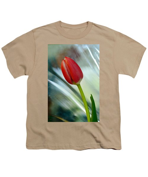 Abstract Tulip Under Glass Youth T-Shirt