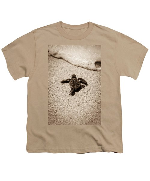 Baby Sea Turtle Youth T-Shirt