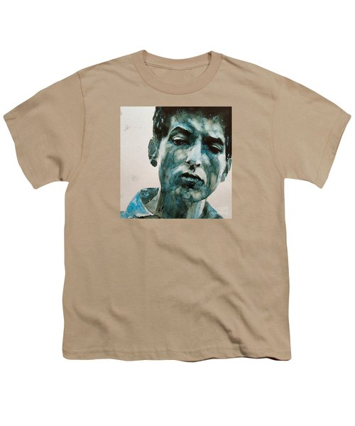 Bob Dylan Youth T-Shirt by Paul Lovering
