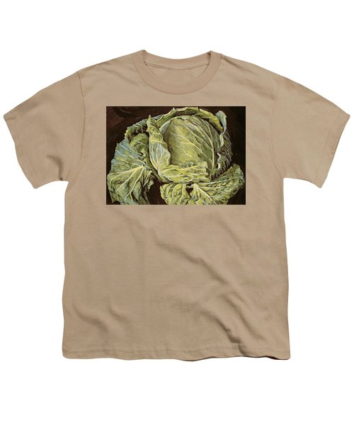 Cabbage Still Life Youth T-Shirt