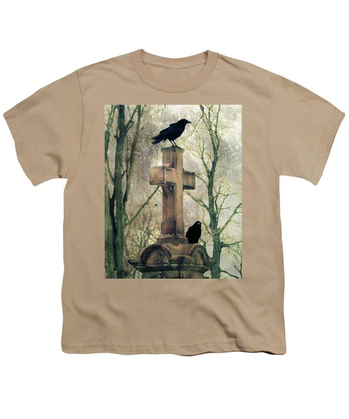 Urban Graveyard Crows Youth T-Shirt