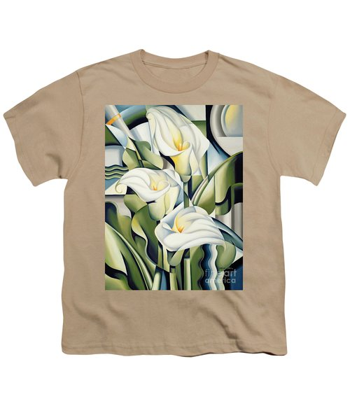 Cubist Lilies Youth T-Shirt