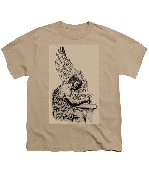 Daedalus Workshop Youth T-Shirt by Derrick Higgins