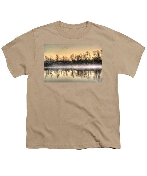Early Morning Mist Youth T-Shirt by Lynn Geoffroy