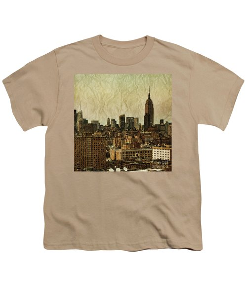 Empire Stories Youth T-Shirt by Andrew Paranavitana
